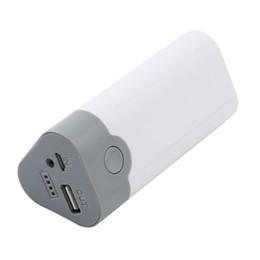 carregador de telefone de alta capacidade Desconto Alta Qualidade 1 Pc 5 V 1A 3x18650 Bateria USB Carregador Caso Box Banco De Potência Móvel Para Celular MP3