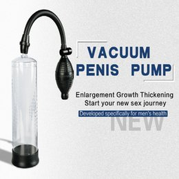 men penis pump Promo Codes - ABS Tube Canwin Men Adult Products Penis Enlarger Penis Pump Sex Toy for Male Adult Sex Penis Enhance Enlargment