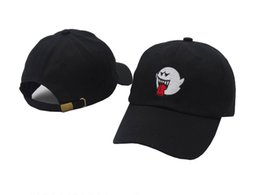 Wholesale Boo Mario - Bryson Tiller Hat American Rapper Singer Trapsoul Snapback Hip Hop Dad Hat Distressed Boo Mario Ghost Women Men Baseball Cap