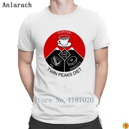 041efbc8e9f Twin Peaks Diet T-Shirt Slim Fit Creative Best Clothes T Shirt For Men Fit  Pattern Spring Autumn 100% Cotton