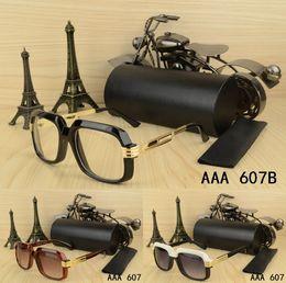 Wholesale best quality eyeglasses - 2018 Summer Hot Sale High quality Metal Fashion men women nice Sunglasses with origianal box case best eyeglasses Classic Sport good glasses