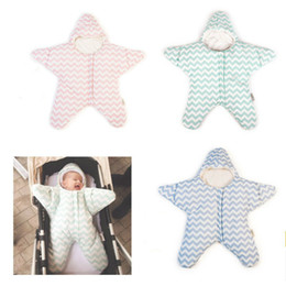 Wholesale Hold Out - 1 PC Starfish Kick Baby Out Children Hold Is Stroller Blanket Windproof Starfish Sleep Sacks Climbing Clothes TRQ0333