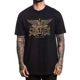 Argentina Sullen Camiseta tradicional para hombre Camiseta negra Camisetas Ropa tatuada Ropa Suministro