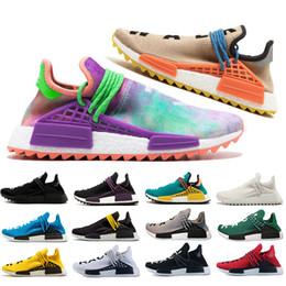 161ee886529d 2019 sports nude men Adidas nmd human race HUMAN RACE Schuhe Pharrell  Williams Holi Pale nackt