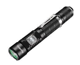 Linterna táctica Súper brillante 1100 lúmenes Cree LED antorcha a prueba de agua con 18650 batería incluida, recargable con USB 5 modos de luz A3 desde fabricantes