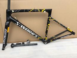 SL6 SIYAH Bukalemun Metalik Boya yeni çerçeve boya Bisiklet frameset karbon yol yarış bisikleti çerçeve Karbon bisiklet çerçeve