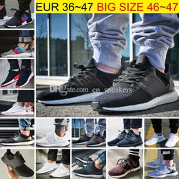 Wholesale Ivory Plastic - Big Size Ultra Boost 2.0 3.0 4.0 UltraBoost mens running shoes for men Designer sneakers women Sports NMD R2 Core Triple Black White 36-47