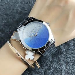 2019 женские наручные часы Бренд кварцевые наручные часы для женщин девушка с градиентом цвета стиль циферблат металл стальной браслет GS 12 скидка женские наручные часы