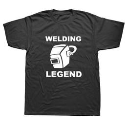 Wholesale Tools Welders - Welding Legend TShirt Mens Boys Work Welder Tools Clothing Funny Gift Idea