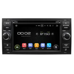 Canada Couleur argent 7inch Andriod 8.0 Lecteur DVD de voiture pour Ford FOCUS Mondeo avec 4 Go de RAM, GPS, commande au volant, Bluetooth, Radio Offre