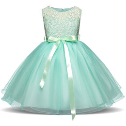 7a37ae0f81c Children dress Bowknot is bud silk dress The girl s bitter fleabane bitter  fleabane princess dress flower