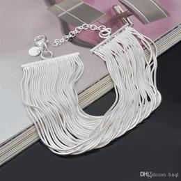 vente en gros nouveau 925 chaîne de serpent en argent sterling bracelet cool street style bijoux de mode cadeaux de Noël bas prix livraison gratuite! ? partir de fabricateur