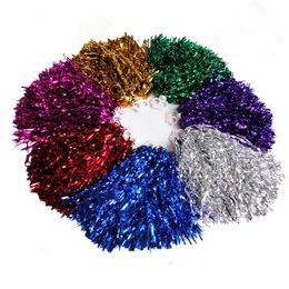 le palline cheerano all'ingrosso Sconti Cheerleading 30g Cheerleading Pompom Dance Sport Supplies Concorrenza Cheerleading Pom Poms Flower Ball All'ingrosso