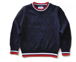 koreanische pullover mädchen Rabatt AM-301 Luxus Kinder Pullover Klassische neue Baumwolle warme Kinder Pullover koreanische Version Jungen Mädchen Pullover Kinder Pullover