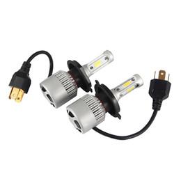 Wholesale h11 plug - 1 pair 72W 8000lm H8 H9 H11 cob Car Automotives Headlight kit bulb led lamp DRL with Fan Play & Plug H7 HB3 HB4 H1 9005 9006