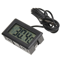 Цифровой дисплей с цифровым дисплеем онлайн-Car Ornaments Accessories Digital LCD Display Car Interior Temperature Meter Tools Thermometer Temperature Sensor