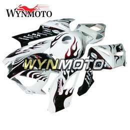 hrc verkleidungen Rabatt Weißer Hai HRC-Verkleidungen für Honda CBR1000RR 2004 2005 Jahr CBR1000 RR 04 05 Körper-Ausrüstungen Motorrad-Verkleidung Cowlings Bodywork