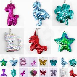 Yeni Stil Flipping Sequins Anahtarlık Karikatür Anahtarlık Kadın Çanta Kolye Aksesuarları Hayvan Anahtar Zincirleri Çocuk Hediye Karikatür Aksesuarla T7C083 nereden telefonlar için halka tutacağı tedarikçiler