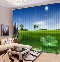 Wholesale living room curtains sale - Chinese 3D Curtains Home Decor Kitchen Curtain Style flower Home Curtain For Living Bedroom Hotel Drapes Cortinas Para Sale