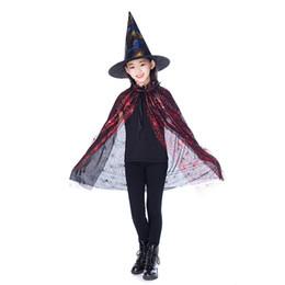 b97e7950bef27 costume de pirates enfants garçons Promotion Nouvel Or Rouge Pourpre Enfants  Heureux Halloween Magicien Costume Set