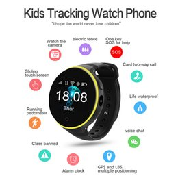 Wholesale german christmas - 1pc ZGPAX S668A Smart Watch GPS SOS Children Kids Watch Support Wifi sim card Baby Safety Tracker for Android iOS As Christmas Gift