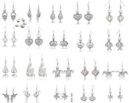 75a847e5bcd7 pendientes de la jaula Rebajas Más de 60 estilos Jaulas de perlas Aretes  colgantes Pendientes de