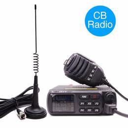 rádio multi bandas Desconto QYT CB-27 Rádio CB 26.965-27.405 MHz AM / FM 12/24 V 4 Watts Tela LCD Shortware Cidadão Banda Multi-Normas CB27 CB Rádio Móvel