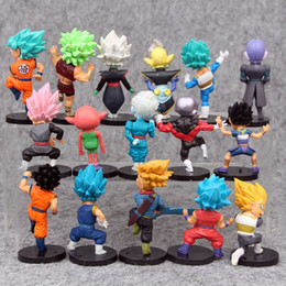 nuovi giocattoli congelati Sconti 16 Stili New Dragon Ball Z DBZ Kuririn Vegeta Trunks Congelare Son Goku SON Gohan Piccolo Freezer Beerus modello Figure Giocattoli