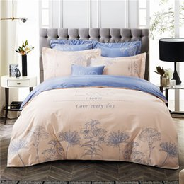 Wholesale Egyptian Cotton Sets - Svetanya Plant Embroidered Bedding Sets Queen King Size Bedlinen 100% Egyptian Cotton Duvet Cover Set