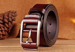 Wholesale mens genuine leather belts - 2018 Brand Belt Pointed M buckle belts designer belts fashion real leather belt luxury belts for mens and women business wasit belt