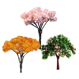 3PCS Mini Tree Miniature Dolls 'House Garden Accessory Plant Fairy Ornament DIY da