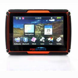 Wholesale navigation tracker - 2017 New! 256 RAM 8GB Flash 4.3 inch GPS Moto Navigation FM GPS Navigator para Moto Waterproof Motorcycle Tracker Free Maps
