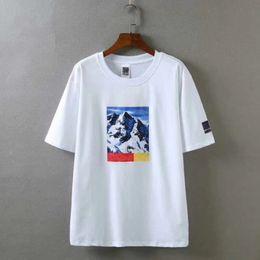 Wholesale X Men Long Sleeve T Shirt - NO FACE X SP Mountain Shirt High Quality Summer Box logo Skateboard T-shirt Men Women Street Cotton T Shirt Casual Tee HFWPTX005