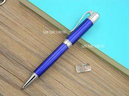 Nueva oficina de escritura de negocios gran escritor raya patrón grabado clásico regalo del océano caliente metal bolígrafo desde fabricantes