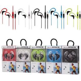 Deutschland SF-A41 HI-FI-Sportkopfhörer Universal 3,5 mm Kopfhörer Ohrhörer mit Mikrofon Actrail für den Sport In-Ear-Kopfhörer für iPhone Samsung MP3 MP4 Versorgung