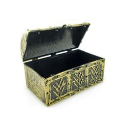 Wholesale chest box storage - Chic Pirate Jewellery Storage Box Case Holder Vintage Treasure Chest for Cosmetic Toy Organizer Box ZA5685