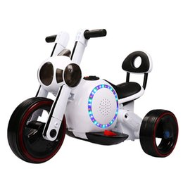 2019 ford druckguss-metall-modell Kinderelektrisches Motorrad-Dreirad-Hund RechargeableToy Kinderelektrische Motorrad-Fuß-Fahrt auf Auto