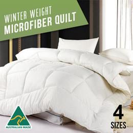 Wholesale Cotton Spreads - Wholesale- U&H Home Textile Bedding Sets Polyester Cotton Microfiber Comforter Down Alternative Bed Spread