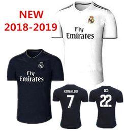 2018 2019 real madrid jerseys ronaldo home away 18 19 real madrid bale isco  asensio MARCELO kroos BENZEMA camiseta de fútbol football shirts 0c87d3476