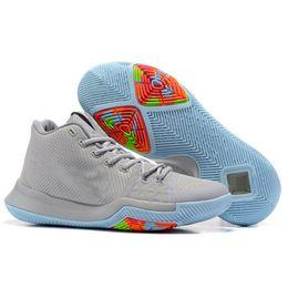 Wholesale Aqua Blue Top - top selling Basketball Shoes Men Bruce Lee kobe Shamrock silt red Aqua Mom university red all star Sneakers xz10