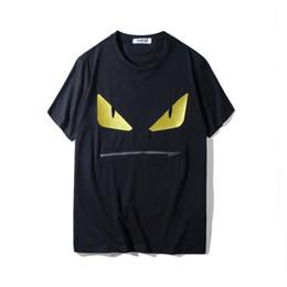 Wholesale Mens Designer Shirts For Men - Men T Shirt Mens Designer T Shirts Mens Clothing Summer Casual Shirts for Men Loose Crew Neck Cotton Blend Embroidery Zipper Plus Size