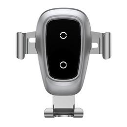 2019 iphone multi carregador cabo telemóvel suporte de carga sem fio, suporte para o carro do telefone móvel, suporte de gravidade em metal