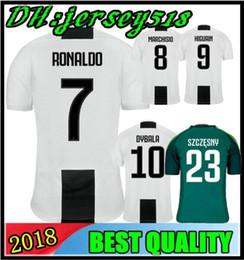Wholesale ny giants - 2019 RONALDO Juventus soccer jersey football shirt MANDZUKIC CHIELLINI Camiseta 18 19 DYBALA HIGUAIN BERNARDESCHI maillot de foot S-3XL