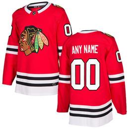 2018 envío gratis NHL Chicago Blackhawks HOCKEY jerseys nuevos en venta  hombres camiseta de hockey jersey personalizado tamaño del artículo M L XL  XXL e2d70046bd0