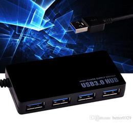 2019 порты linux KUYIA 4-портовый сверхтонкий концентратор USB 3.0 Высокоскоростной USB 3.0 Данные и питание для Windows, Mac OS, Linux со встроенным 0,5-футовым USB3.0 C дешево порты linux