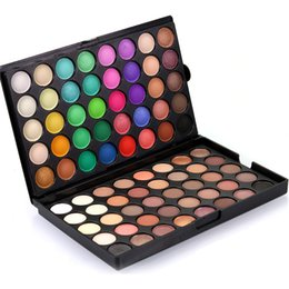 Wholesale Earth Warms - POPFEEL 80 Colors Eye Shadow Palette Warm Earth Color Nude Cosmetics Eyes Shimmer and Matte Palette Eyeshadow Eyes Make Up