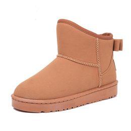 Wholesale Resistance Shoes - SZSGCN-Wholesale!2018 NEW Winter Snow Boots Low Heels Lace Short Boots With Plush Women Slip Resistance Winter Shoes Warm