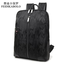 Wholesale Male Computer Backpacks - 2017 FEIDIKABOLO Brand backpack male Waterproof men backpacking backpack Student School Backpack Bag Women Computer Laptop Bag
