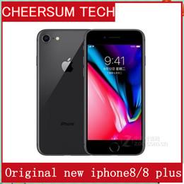 Wholesale Mobile Mp - Unlocked Original Apple iPhone 8 Plus 4G LTE Cell phones 3GB RAM 64 256GB ROM 5.5' 12.0 MP Hexa-core Fingerprint Mobile phone