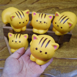 Wholesale Simulation Animal Toys - Simulation Cat Squishy Decompression Toys Kawaii Animal Squishie Slow Rising Children Play House Toy Gift 7ym C